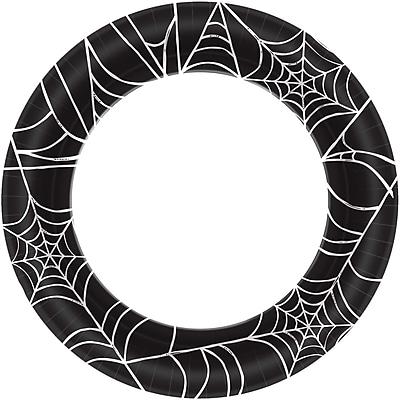 Amscan Spider Web Paper Plate, 10
