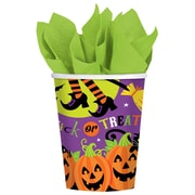 Amscan Witchs Crew Paper Cup, 9oz, 3/Pack, 18 Per Pack (731518)