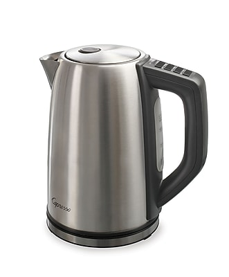 Capresso H20 Steel Plus 57 oz. Electric Water Kettle Stainless Steel (278.05)