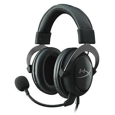 HyperX - Casque d'écoute de jeu Cloud II pour PC et PS4, gris métallique (KHX-HSCP-GM)