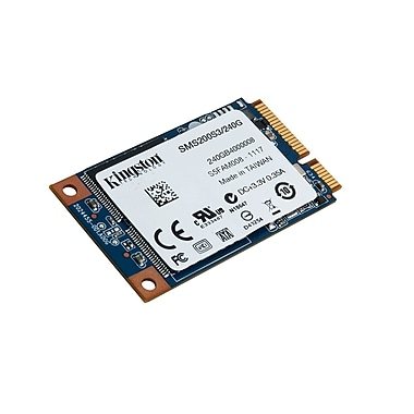 Kingston® - Disque SSD interne SSDNow ms200 mSATA, 240 Go (SMS200S3/240G)