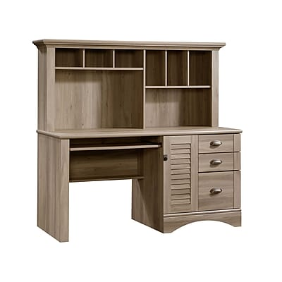 Sauder Harbor View puter Desk with Hutch A2