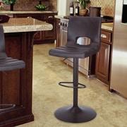 AdecoTrading Adjustable Height Bar Stool w/ Cushion