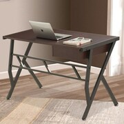 Inland ProHT Writing Desk; Coffee Brown