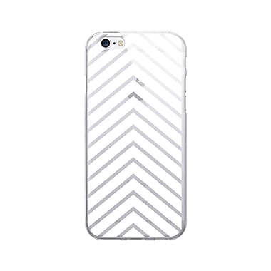 OTM Prints Clear Phone Case, Arrows White, iPhone 7/7S (OP-IP7V1CG-A02-59)