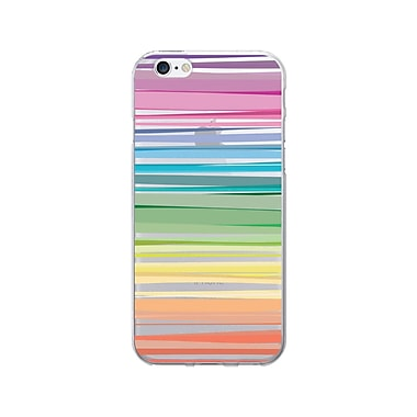 OTM Prints Clear Phone Case, Pastel Stripes, iPhone 7/7S (OP-IP7V1CG-CLS-14)