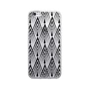 OTM Prints Clear Phone Case, Gatsby Black - iPhone 6/6S