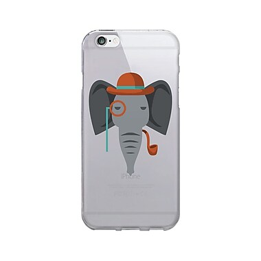 OTM Prints Clear Phone Case, Elephant , iPhone 7/7S (OP-IP7V1CG-CRIT-05)
