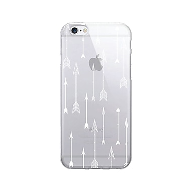 OTM Prints Clear Phone Case, Flying Arrows White - iPhone 6/6S