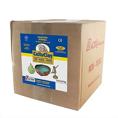 Activa® Celluclay Original Papier Mache, White, 24 lb