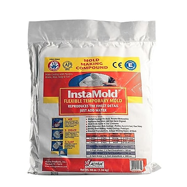 Activa InstaMold Flexible Temporary Mold, 48 oz, 6/Pack
