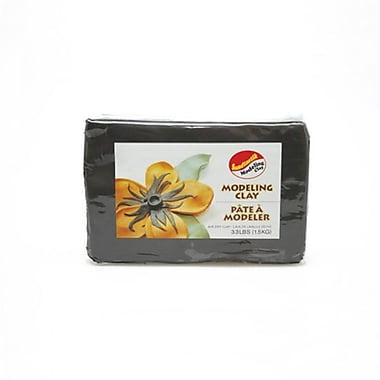 Sandtastik® Air Dry Modeling Clay, 3.3 lb, Black, 4/Pack