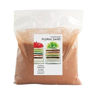 Sandtastik® Floral Coloured Sand, 2 lb (909 g) Bag, Marigold