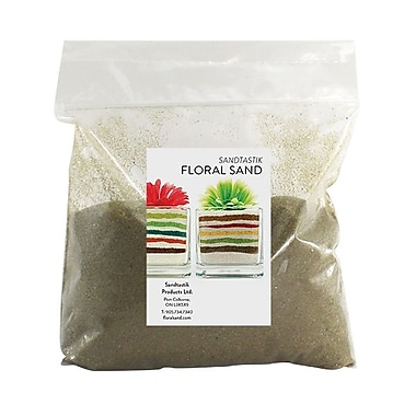 Sandtastik® Floral Coloured Sand, 2 lb (909 g) Bag, Lizard Green