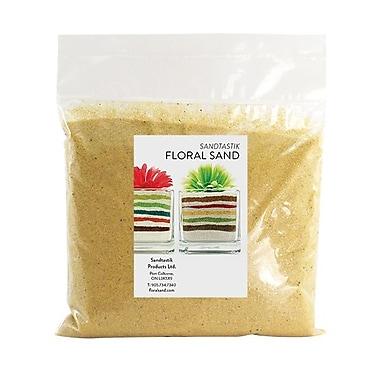 Sandtastik® Floral Coloured Sand, 2 lb (909 g) Bag, Banana