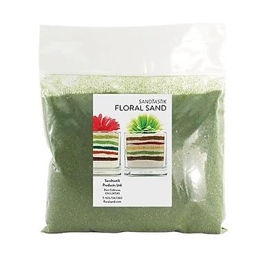 Sandtastik® Floral Coloured Sand, 2 lb (909 g) Bag, Woodbine, 12/Pack