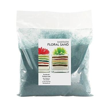 Sandtastik® Floral Coloured Sand, 2 lb (909 g) Bag, Teal