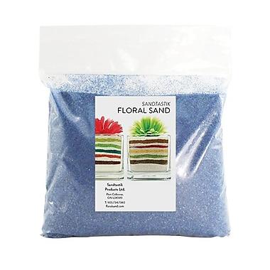 Sandtastik Floral Coloured Sand, 2 lb (909 g) Bag, Blue Hawaii, 12/Pack
