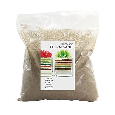 Sandtastik Floral Coloured Sand, 2 lb (909 g) Bag, Ginger, 12/Pack