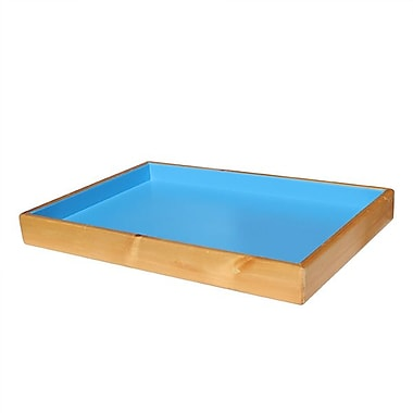 Sandtastik® Pine Sand Therapy Tray Painted
