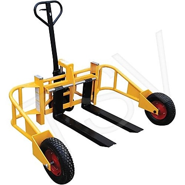 Transpalette Vestil tt terrain, long. fourche : 32 po, capacité à 12 po du centre de charge horizontal : 2000 lb (ALL-T-2)