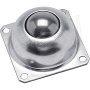 Colson Steel Ball Transfers, Static Capacity: 200 Lbs., Mounting Type: 4 Hole Base Mount (4230/4260)
