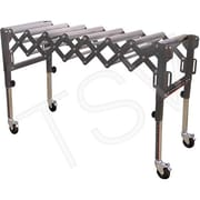 King Canada Extendable & Flexible Conveyor Roller Tables, Capacity 300 Lbs. Per Lin. Ft. (KRRS-109)