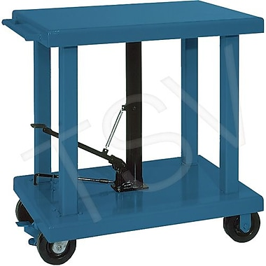 Wesco Hydraulic Work Table, Platform Dimensions: 36