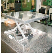 "Southworth Lift-Tool Table Top Lifts, Platform Dimensions: 23"" L x 22"" W, Lowered Height: 3.5"" (4429108)"
