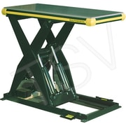 "Southworth Hydraulic Backsaver Lift Table, Platform Dimensions: 24"" W x 48"" L, Lowered Height: 6.75"" (LS4-36)"