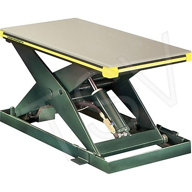 Southworth – Table élévatrice hydraulique Backsaver, Dimensions de la plateforme : 24 larg. x 48 long. (po)