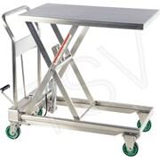 Vestil – Tables élévatrices hydrauliques à ciseaux en acier inoxydable (CART-550-SS)