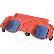 Vestil – Chariot à roulettes au niveau des genoux, Capacité : 350 lb, Matériau du cadre : Plastique (KNEE-D)