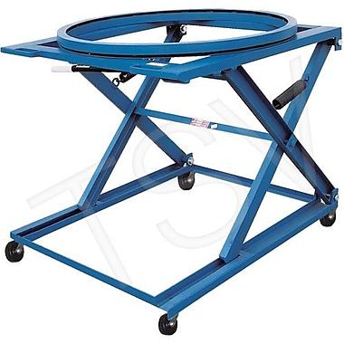 Vestil Adjustable Pallet Stand - Mobile, Capacity 1500 Lbs. (PS-4045/CA-CK)