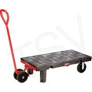 Rubbermaid – Plate-forme à roues, à timon détachable, largeur de la plateforme : 30 po, capacité : 2000 lb (FG449500BLA)