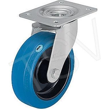 Blickle Hard Rubber Caster, Wheel Diameter: 7-7/8