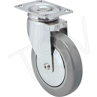 Colson Stainless Steel Caster, Wheel Diameter: 5