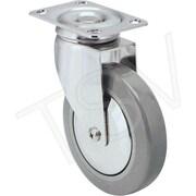 Colson – Roulette pivotante en acier inoxydable avec roue en polyuréthane, diamètre de 5 po (127 mm) (Y581PSS26RS)