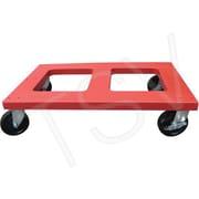 Vestil - Chariot plat en polyéthylène d'une capacité de 1000 lb et d'une hauteur de 10 po, DOL-1830-F