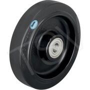 "Blickle Elastic Solid Rubber Wheels, Bore Size 787/1000"" (POEV 160/20R-SB)"