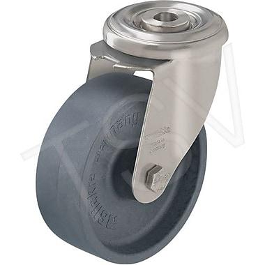 Blickle – Roulette pivotante en thermoplastique résistant à la chaleur, diamètre de 4 po (LIXR-POHI 102G)
