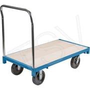 Kleton – Chariot à plateforme robuste, plateforme de 36 larg. x 72 long. (po), poignée de 40 haut. (Po), capacité de 2500 lb