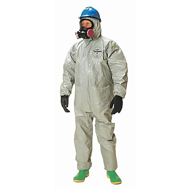 Dupont Personal Protection Coverall Tychem F Resp Hood Fit Elast Wrist 3XL (TF169T-3XL)