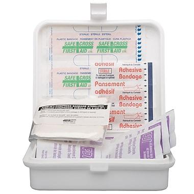 Safecross – Trousse de premiers soins Colombie-Britannique De base, 36U, en métal (50 009)