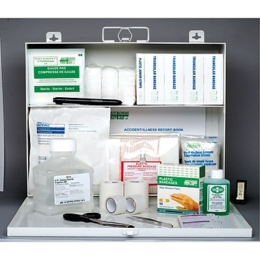 Safecross First Aid Kit B.C. Level1, #2 Metal (50024)