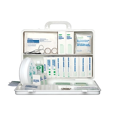 Safecross First Aid Kit Saskatchewan 10-40, 36U Metal (50218)