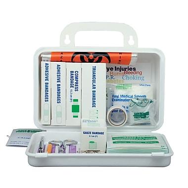 Safecross – Trousse de premiers soins réglementaire Nouvelle-Écosse No 1, 10 unités, métal, 2/paquet (50603)