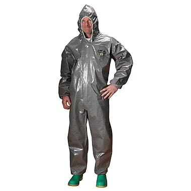 Lakeland – Combinaison Chemmax 3, capuchon gris élastique convenant aux respirateurs, moyen, 2/paquet (C3T132-M)