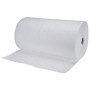 Zenith Safety Products – Rouleau absorbant en fibre fine pour huile, 30 po x 150 pi, poids moyen