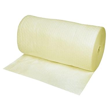 Zenith Safety Products – Rouleau absorbant laminé pour matières dangereuses, 30 po x 150 pi, poids moyen